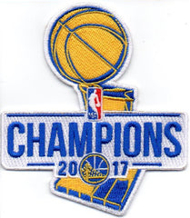 2017 Golden State Warriors Champions Patch