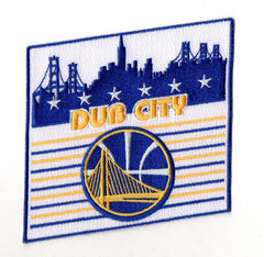 Golden State Warriors Big Sky FanPatch (Dub City)