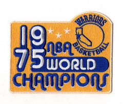 Golden State Warriors 1975 Champions FanPatch