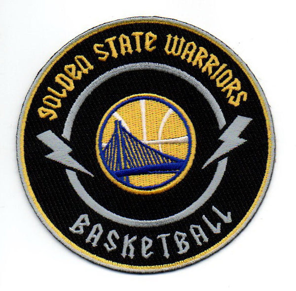 "Golden State Warriors ""Area Rock"" FanPatch"