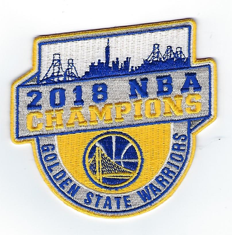 Golden State Warriors 2018 Champions FanPatch