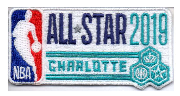 2019 NBA All Star Game Patch (Charlotte)