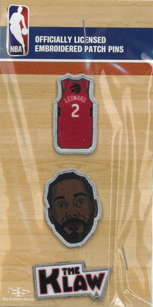 Toronto Raptors #2 Kawhi Leonard Patch Pins