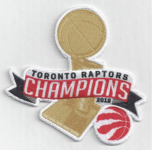 Toronto Raptors 2019 NBA Champions Patch (Trophy)