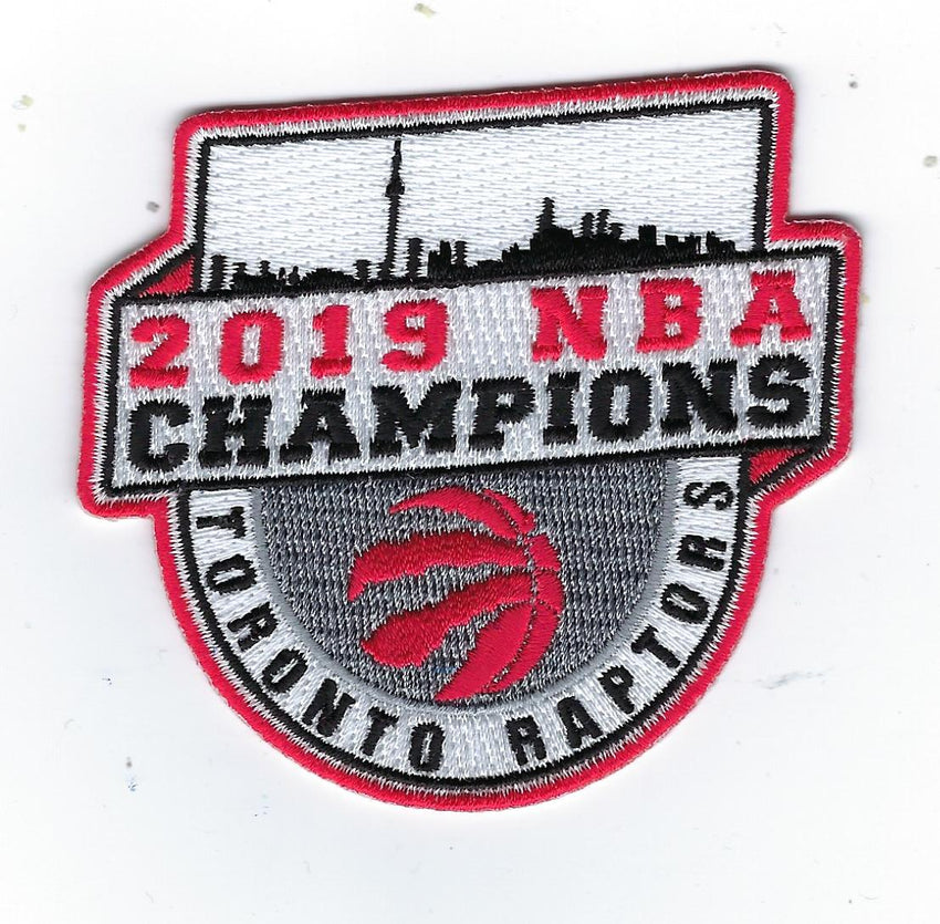 Toronto Raptors 2019 NBA Champions Patch