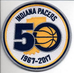 Indiana Pacers 50th Anniversary Patch
