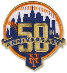 New York Mets 50th Anniversary Patch
