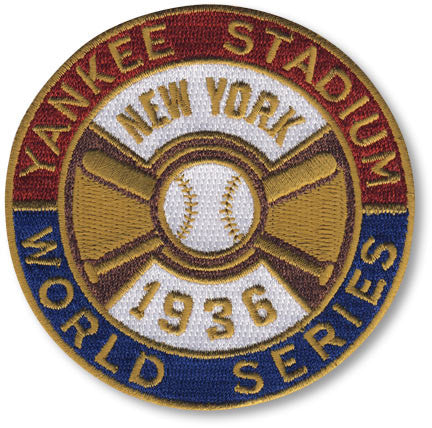 New York Yankees 1936 World Series Championship Patch