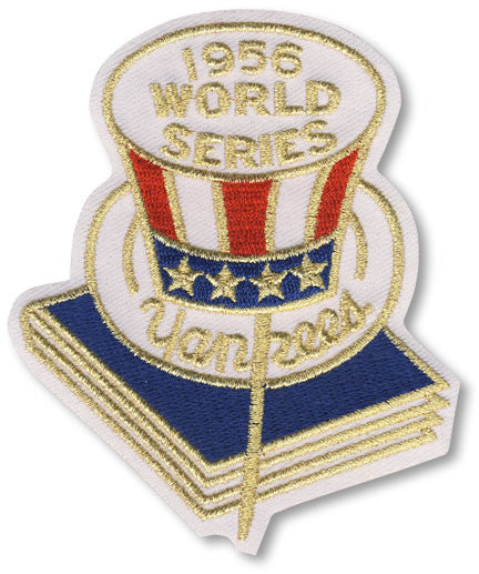 New York Yankees 1956 World Series Championship Patch