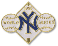 New York Yankees 1958 World Series Championship Patch