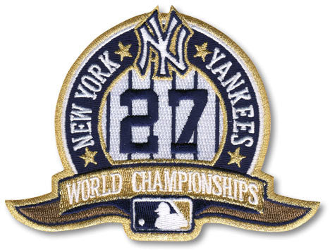 New York Yankees 27 Championships Patch