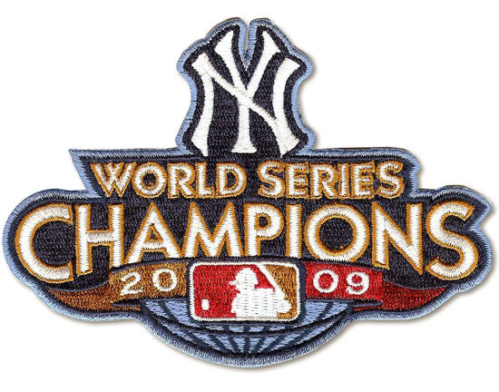 New York Yankees 2009 WS Championship Patch