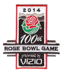 "2014 Rose Bowl Presented By Vizio ""100th Anniversary"" Patch"