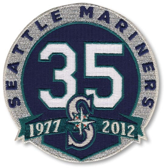 Seattle Mariners 35th Anniversary Patch