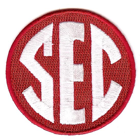 SEC Uniform Patch (Alabama)