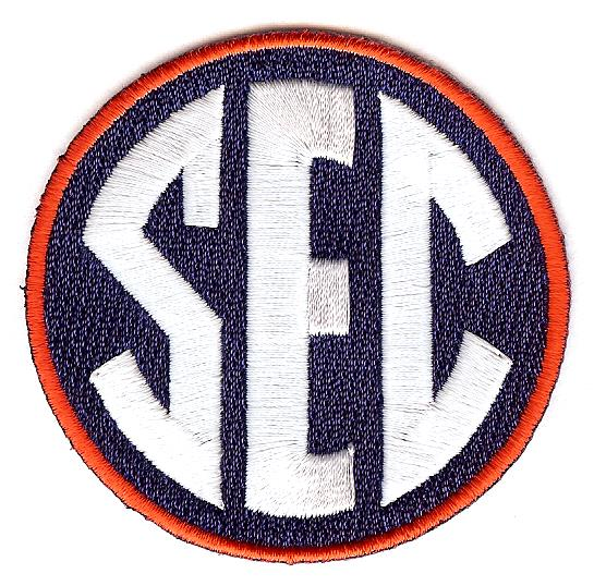 SEC Uniform Patch (Auburn)