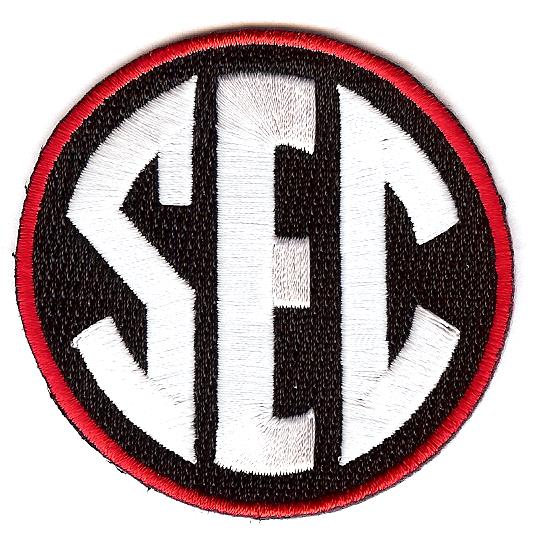 SEC Uniform Patch (Georgia)