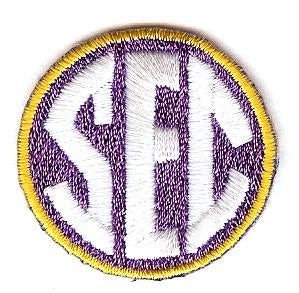 SEC Uniform Patch (Louisiana State)