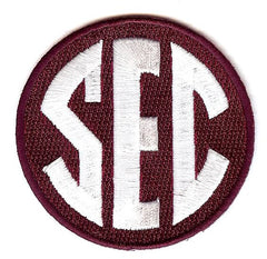 SEC Uniform Patch (Mississippi State)