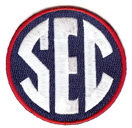 SEC Uniform Patch (Ole Miss)