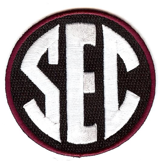 SEC Uniform Patch (South Carolina)