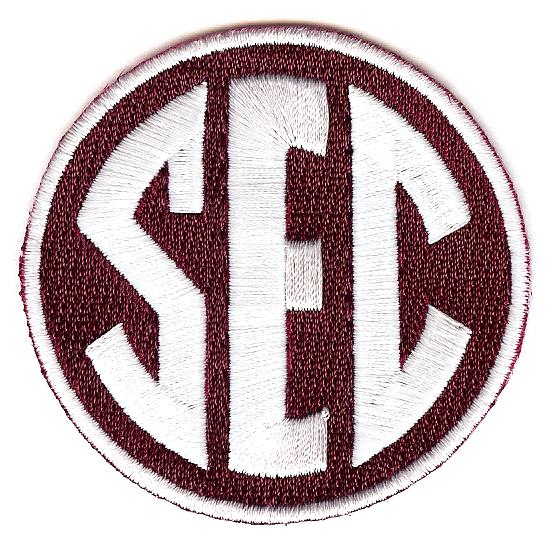 SEC Uniform Patch (Texas A&M)