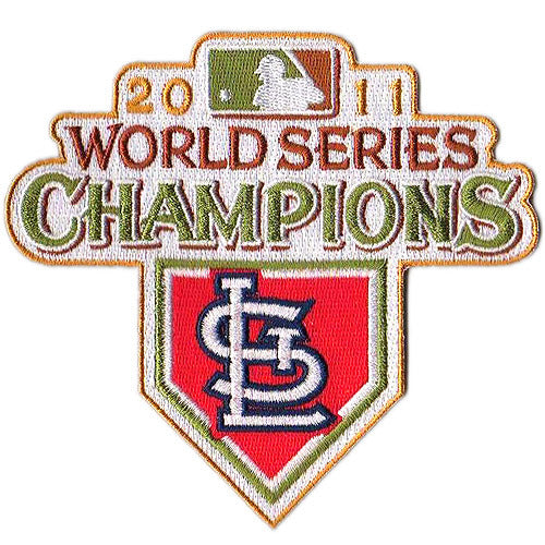 St. Louis Cardinals 2011 World Series Championship Patch