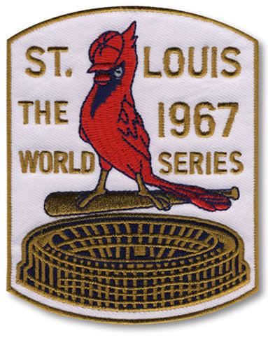 St. Louis Cardinals 1967 World Series Championship Patch