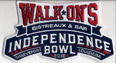 Walk-On's Independence Bowl Patch (2018)
