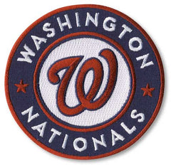 Washington Nationals Primary Logo / Sleeve Patch