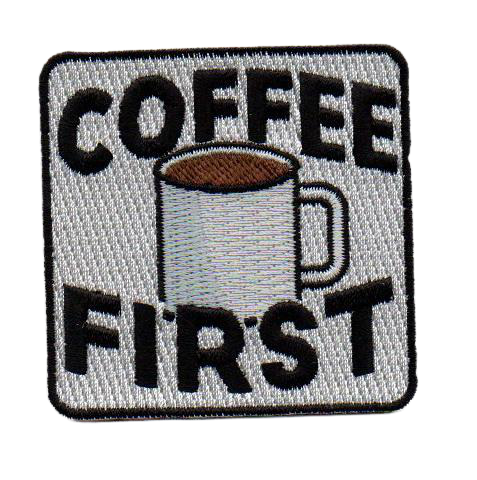 Coffee First Patch