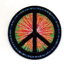 Peace Sign Patch (Tie-Dye)