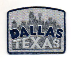 Dallas Skyline Patch