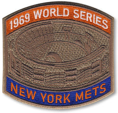 New York Mets 1969 World Series Championship Patch