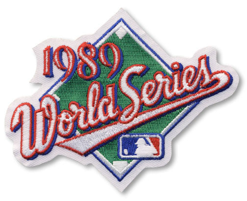 1989 World Series Patch