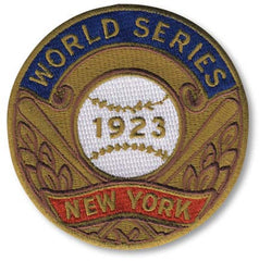 New York Yankees 1923 World Series Championship Patch