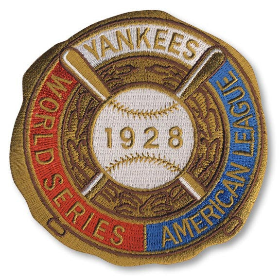 New York Yankees 1928 World Series Championship Patch