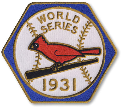 St. Louis Cardinals 1931 World Series Championship Patch
