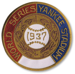 New York Yankees 1937 World Series Championship Patch