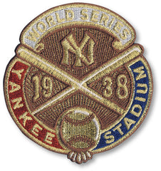 New York Yankees 1938 World Series Championship Patch