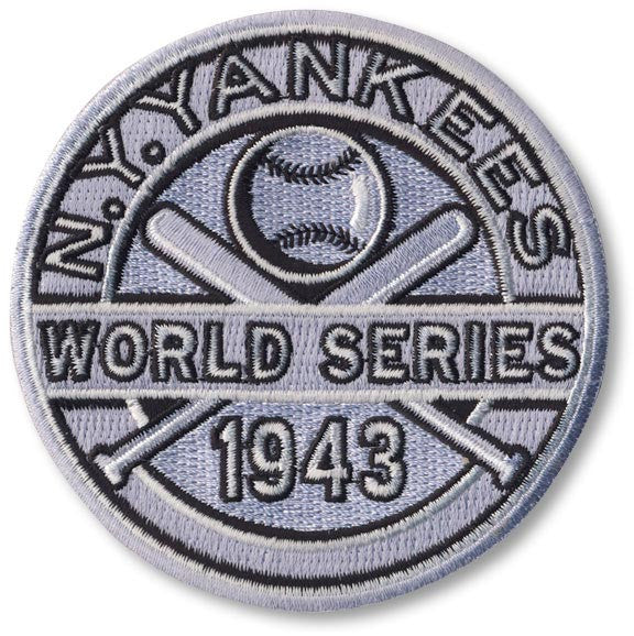 New York Yankees 1943 World Series Championship Patch