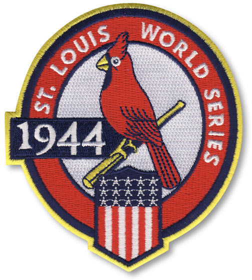 St. Louis Cardinals 1944 World Series Championship Patch