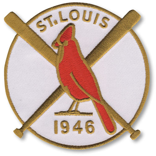 St. Louis Cardinals 1946 World Series Championship Patch