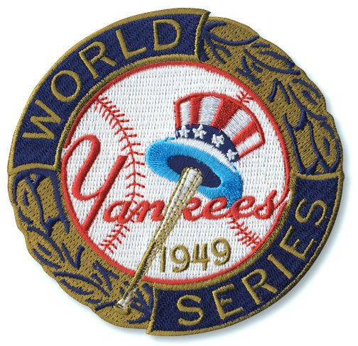 New York Yankees 1949 World Series Championship Patch