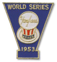 New York Yankees 1953 World Series Championship Patch