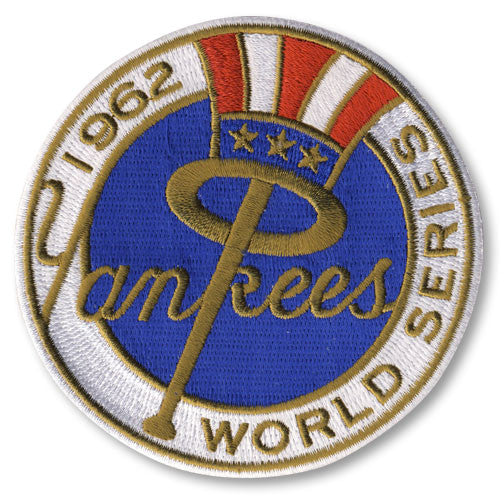 New York Yankees 1962 World Series Championship Patch