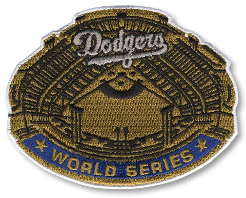 Los Angeles Dodgers 1963 World Series Championship Patch