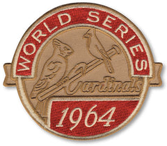 St. Louis Cardinals 1964 World Series Championship Patch