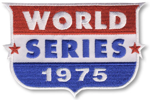 1975 World Series Patch