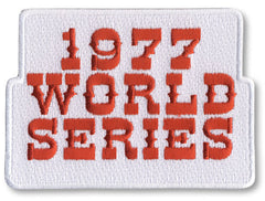 1977 World Series Patch
